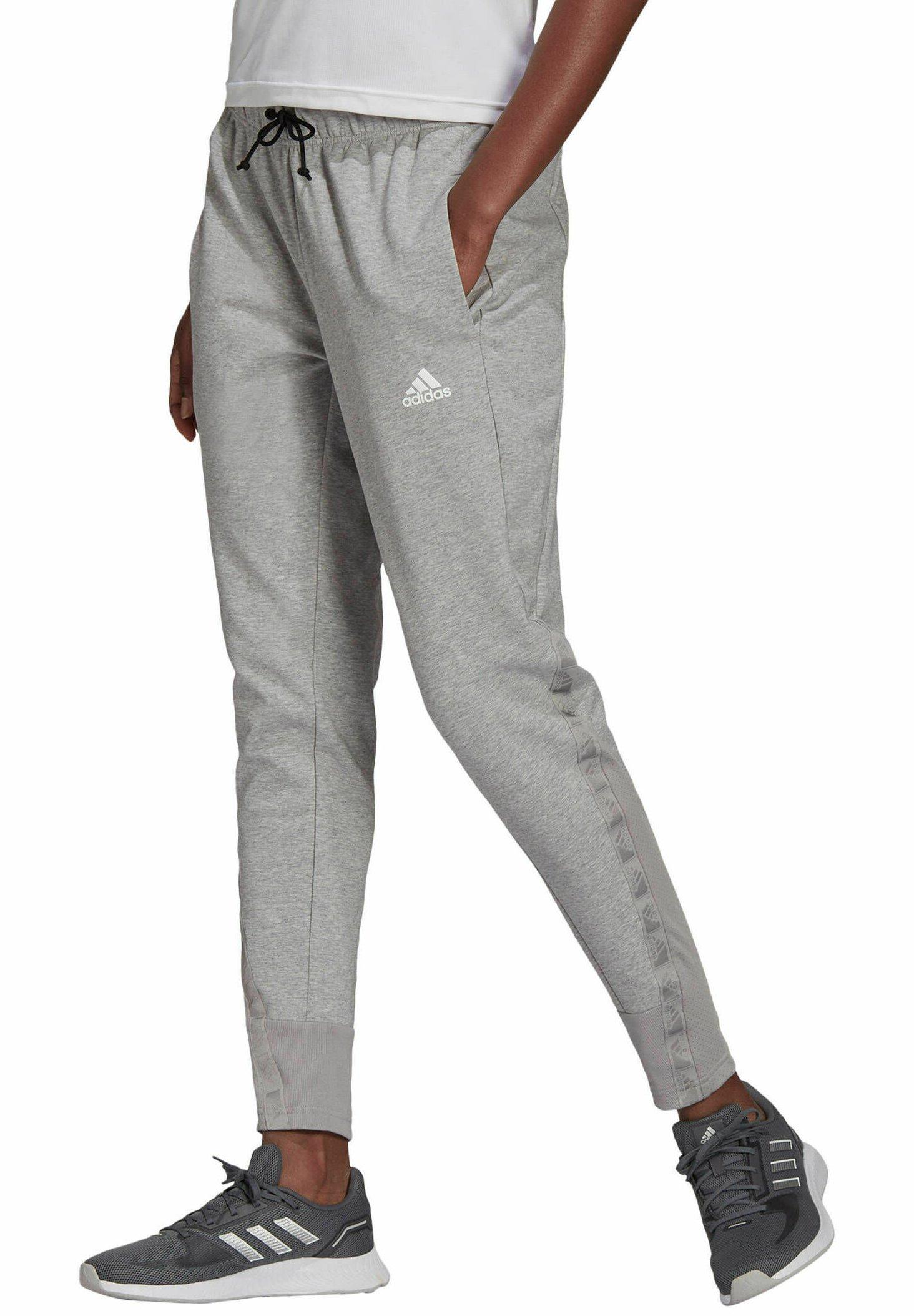 Femme Pantalon de survêtement - mittelgrau