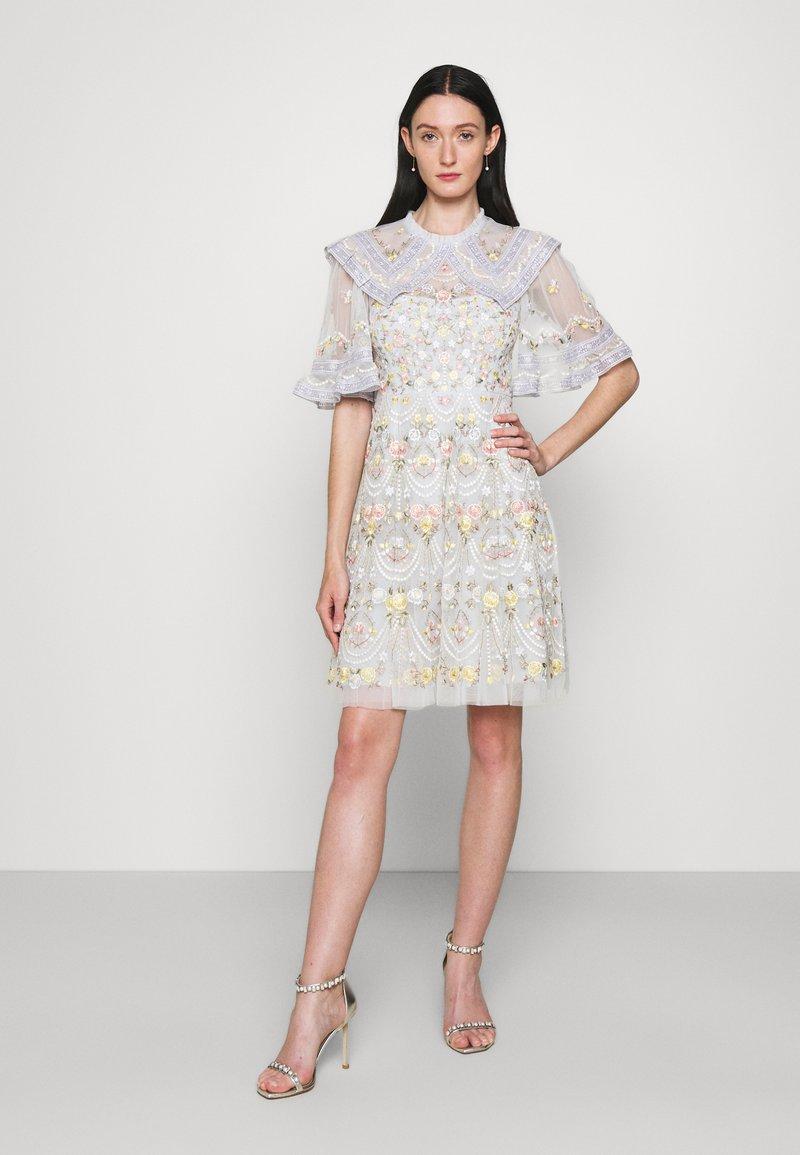 Needle & Thread - REVERIE ROSE MINI DRESS - Cocktail dress / Party dress - blue mist