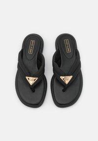 River Island - T-bar sandals - black - 5