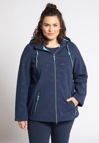 Ulla Popken - Soft shell jacket - dunkelblau - 0