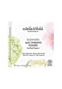 Estelle & Thild - BIOMINERAL SILKY FINISHING POWDER 10G - Puder - 122 light yellow - 1
