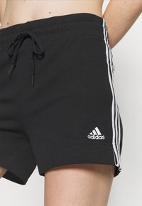 adidas Performance - Sports shorts - black/white - 3