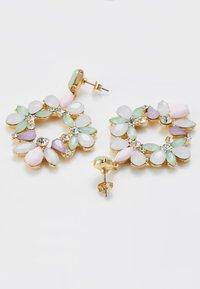Pieces - PCPASTEL EARRINGS - Orecchini - gold-coloured/multicoloured - 2