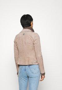 Freaky Nation - SUMMER BIKER PRINCESS - Leather jacket - wood - 2