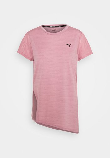 STUDIO TEE - Print T-shirt - foxglove