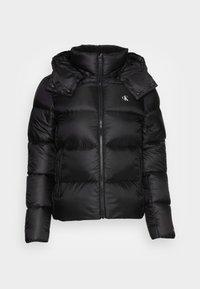Calvin Klein Jeans - SHINY  - Down jacket - black - 4