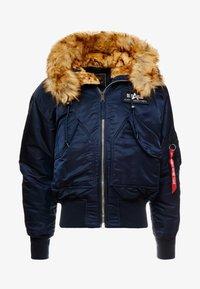 Alpha Industries - HOODED CUSTOM - Light jacket - rep blue - 4