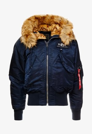 HOODED CUSTOM - Chaqueta de entretiempo - rep blue