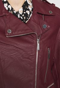 Morgan - GRAMMO - Faux leather jacket - bordeaux - 6