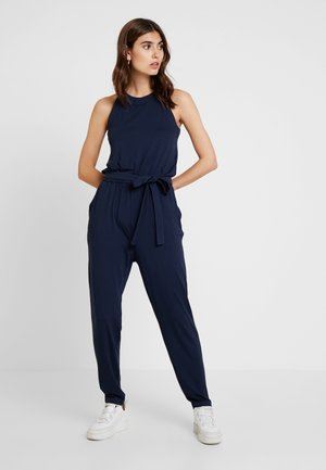 OVERALL SOLID - Jumpsuit - navy