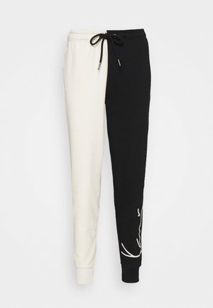 SIGNATURE BLOCK - Tracksuit bottoms - off-white