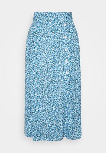 SKIRT - A-line skirt - dusty blue