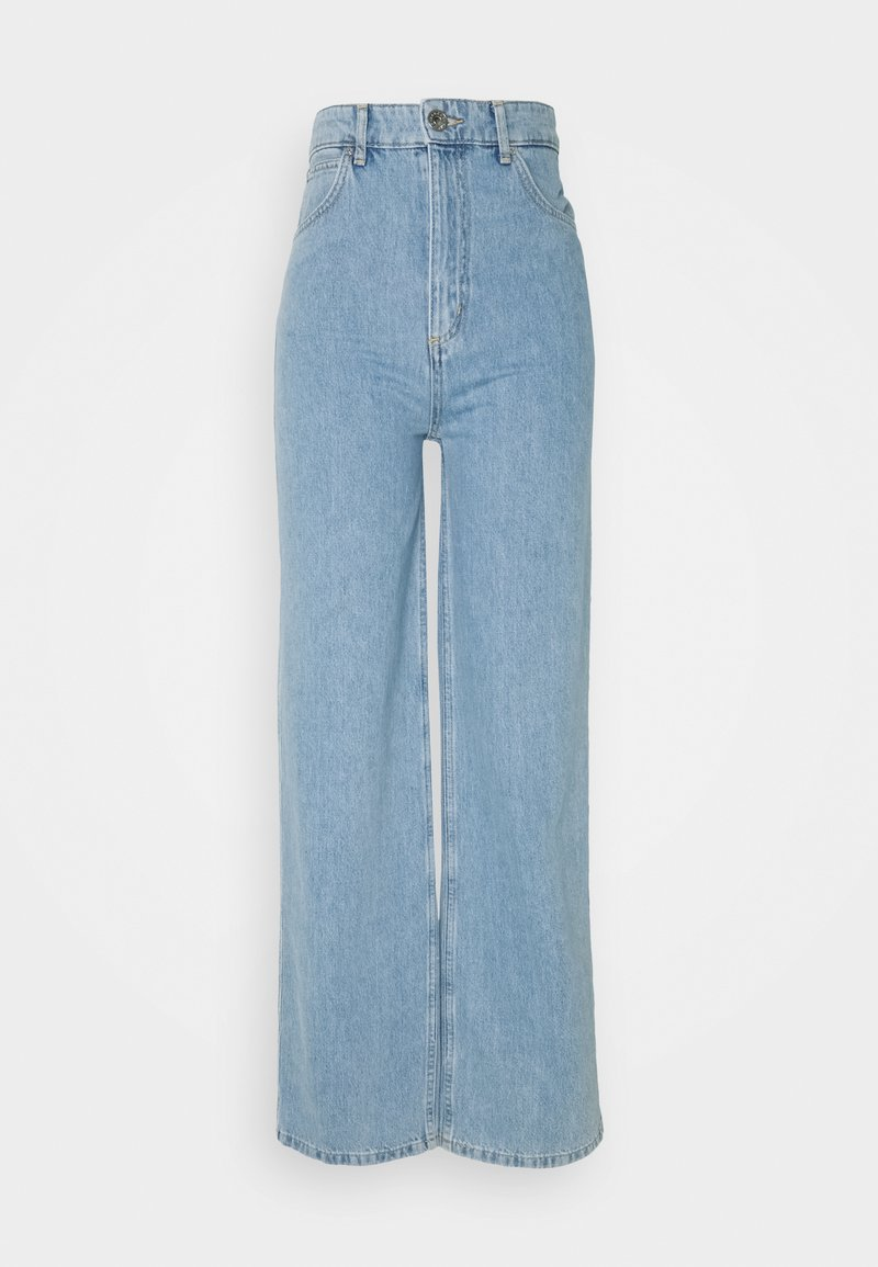 sandro - JORDY - Relaxed fit jeans - bleu denim