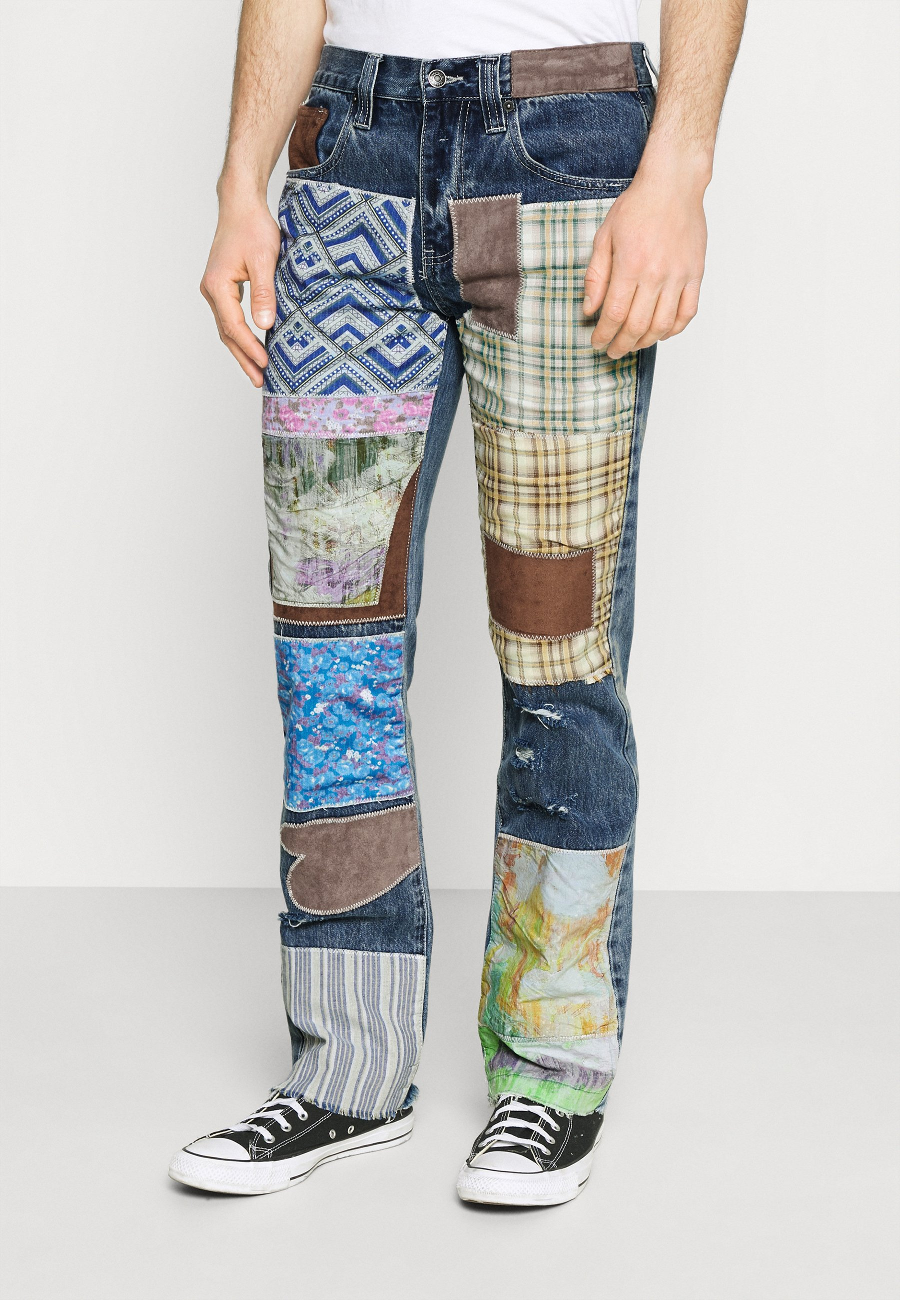 Men REWORKED PATCHWORK  - Bootcut jeans