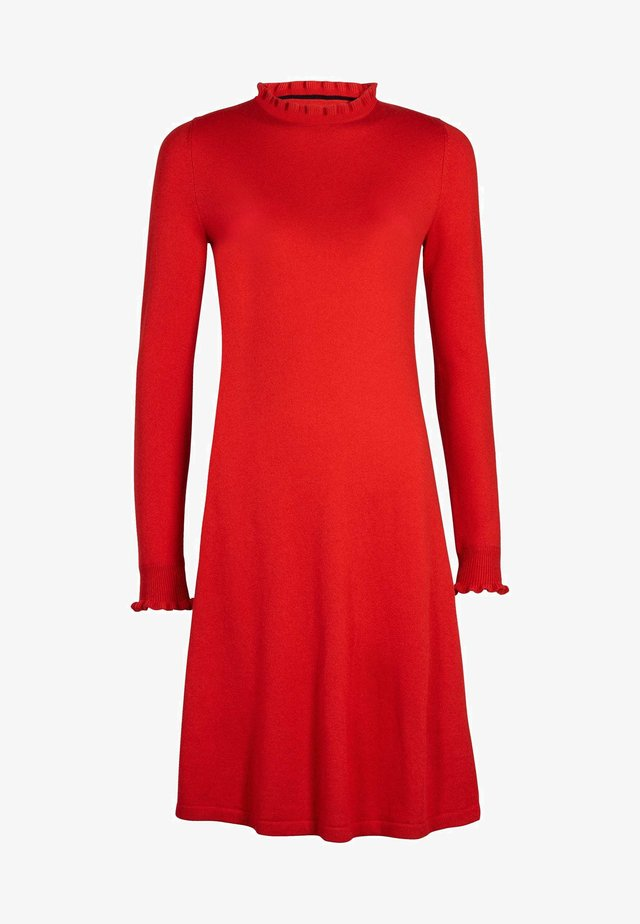 LARA - Jumper dress - rot