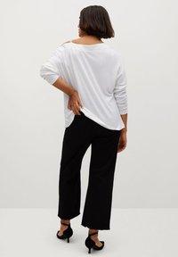 Violeta by Mango - BLANKI - Long sleeved top - cremeweiß - 2