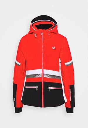 EVIDENCE JACKET - Ski jacket - seville/black