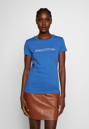 SHORT SLEEVE ROUND NECK - Print T-shirt - clear fountain