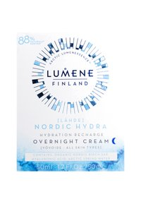 Lumene - NORDIC HYDRA [LÄHDE] HYDRATION RECHARGE OVERNIGHT CREAM - Natpleje - - - 2