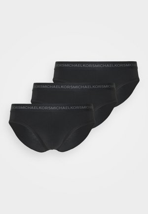 SUPREME TOUCH CONTRAST WAIST 3 PACK - Figi - black