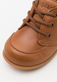 Bisgaard - BISGAARD LUCA LACE UNISEX - First shoes - cognac - 5