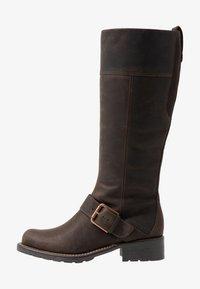 Clarks - ORINOCO JAZZ - Botas - dark brown - 1