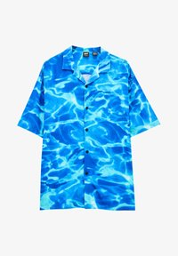 PULL&BEAR - Shirt - neon blue - 5