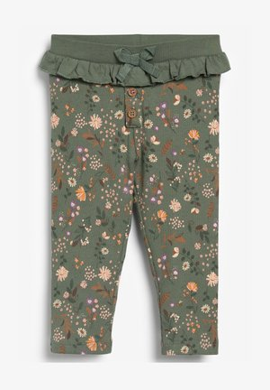 ALL OVER PRINT - Leggings - Trousers - khaki