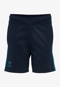 Hummel - ACTION - Sports shorts - dark sapphire/blue coral - 0