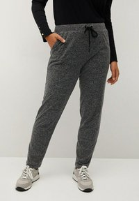 Violeta by Mango - RUNNER-I - Tracksuit bottoms - grau - 0