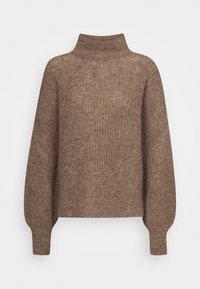 Won Hundred - BLAKELY - Sweter - brown melange - 6