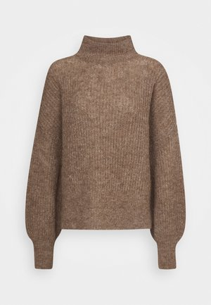 BLAKELY - Pullover - brown melange