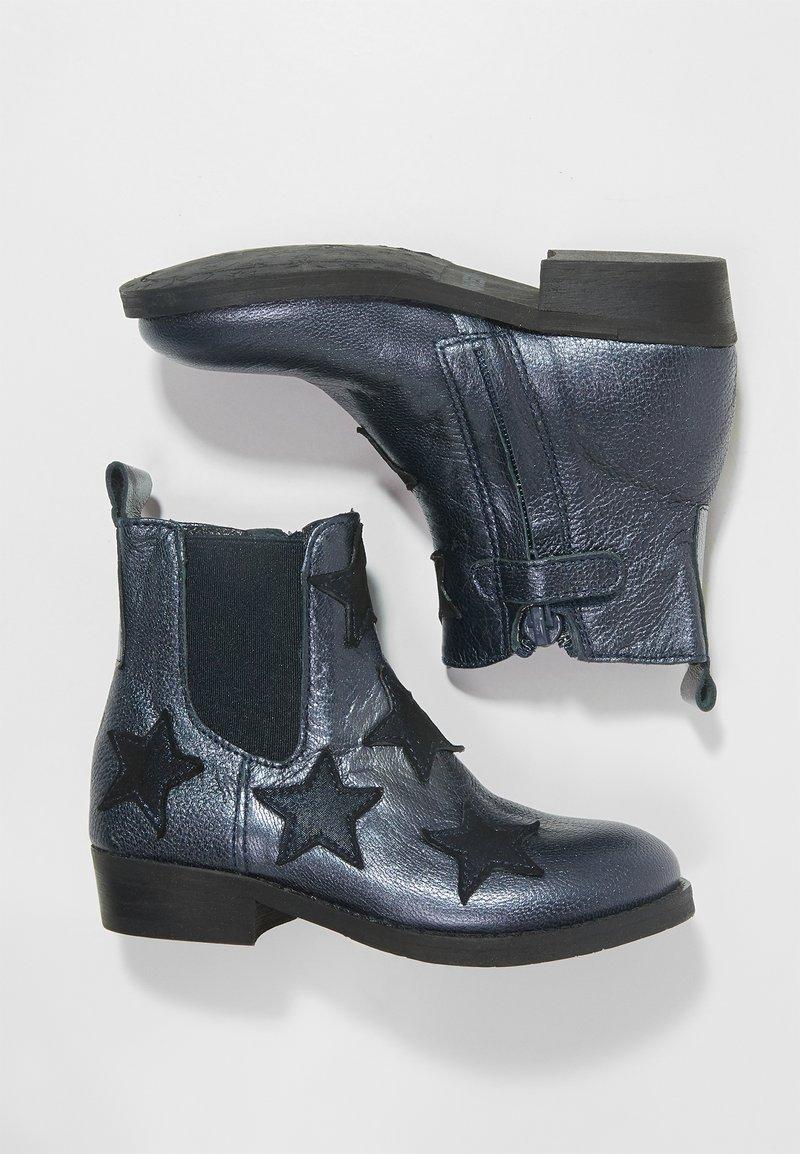 Shoesme - WESTERN - Kotníkové boty - marine