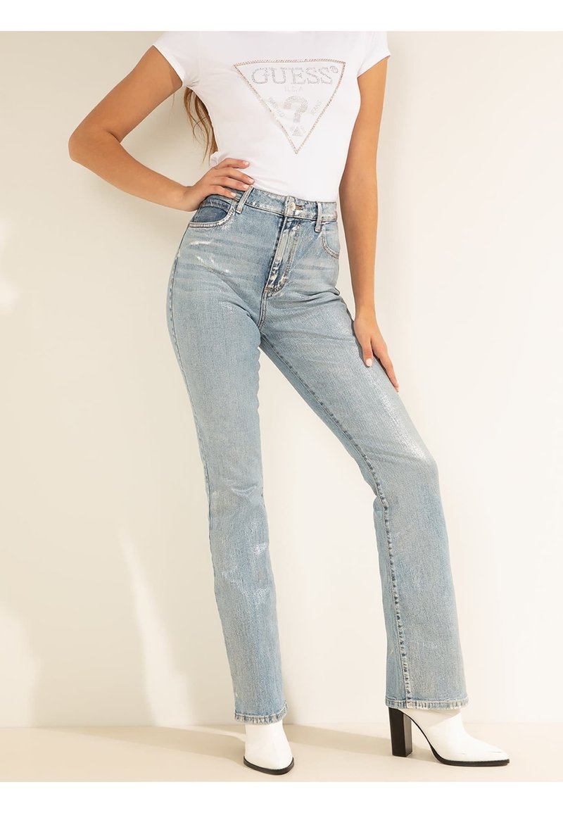Guess - Straight leg jeans - blau