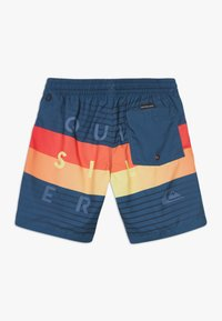 Quiksilver - WORD BLOCK VOLLEY YOUTH - Swimming shorts - majolica blue - 1