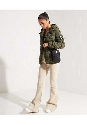 EXPEDITION DOWN  - Down jacket - superdry olive
