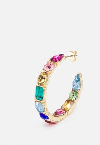 Pieces - PCFLORA HOOP  - Earrings - gold-coloured/multi - 2