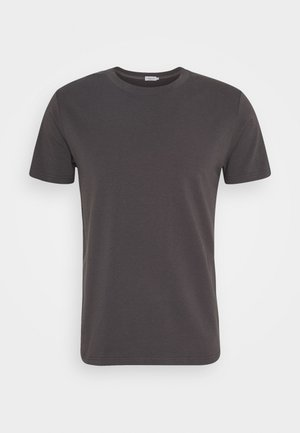 TEE - Basic T-shirt - dark mole