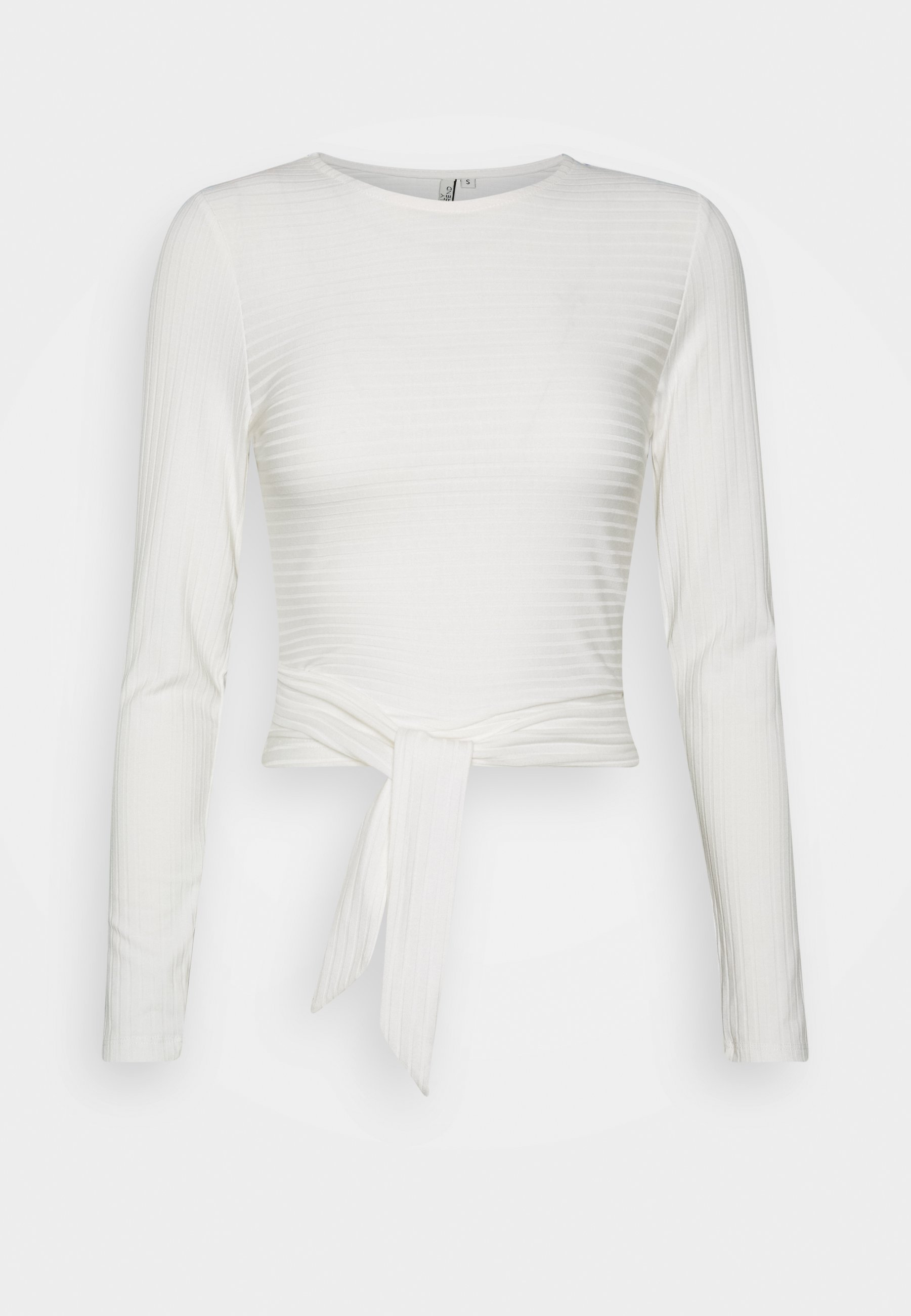 Nly by Nelly CUT OUT Långärmad tröja white Zalando.se