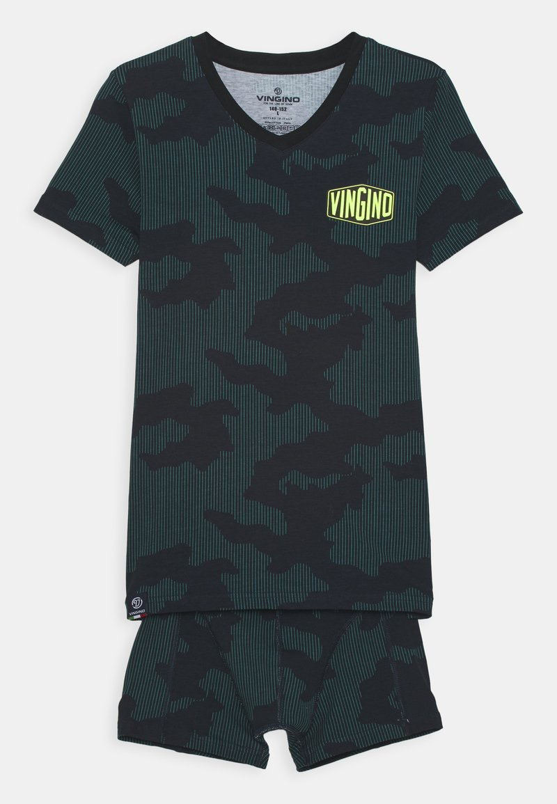 Vingino - SPACE SET - Underwear set - deep black