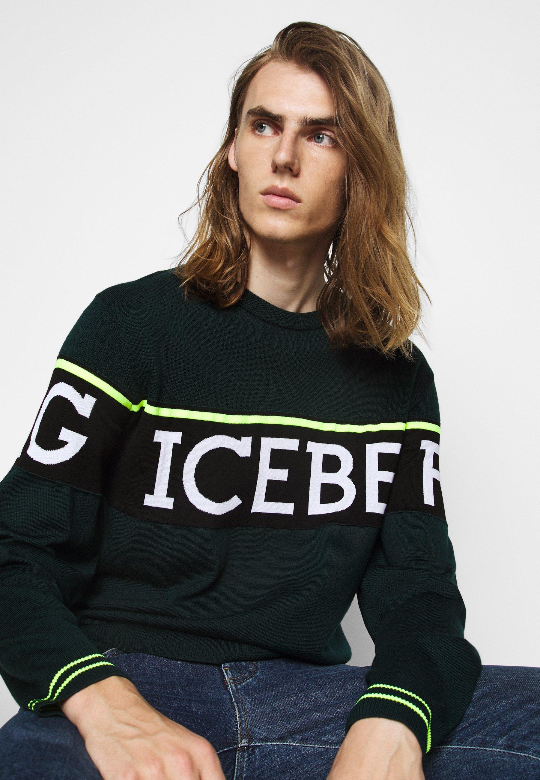 Iceberg Girocollo - Strickpullover Verdone