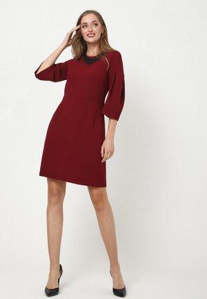 VERGINI - Day dress - weinrot