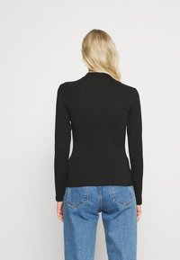 Anna Field - 2 PACK - Long sleeved top - black/black - 2