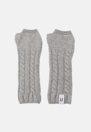 ANNA MARIA - Fingerless gloves - grey calce