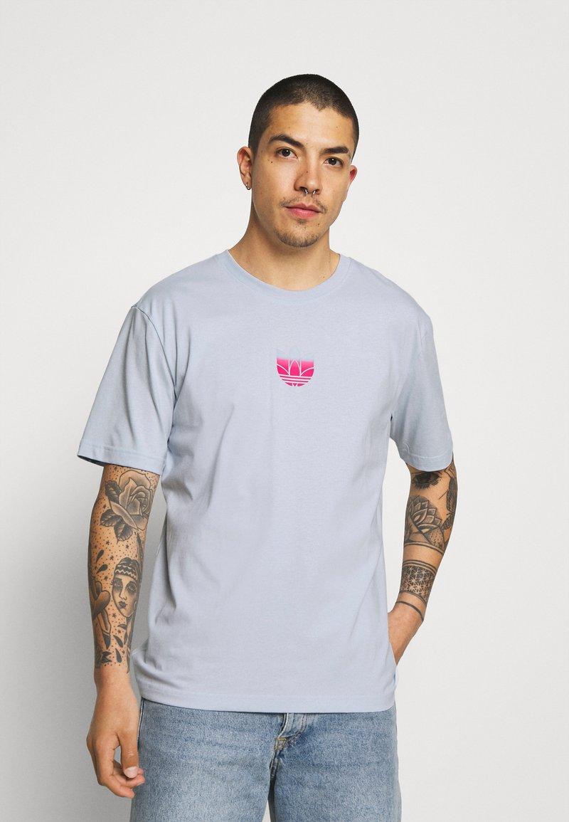 adidas Originals - TEE UNISEX - Print T-shirt - blue