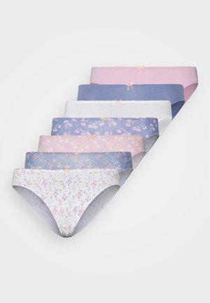 FEM GARDEN 7 DAYS HIPSTER BRIEF 7 PACK - Briefs - dream pink