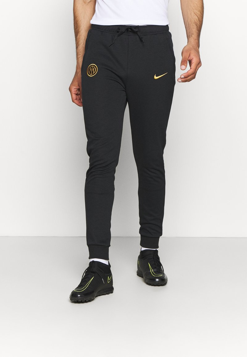 Nike Performance - INTER MAILAND TRAVEL PANT - Club wear - black/truly gold