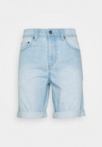 Denim Project - MR ORANGE STRIPE - Shorts - blue/white - 0