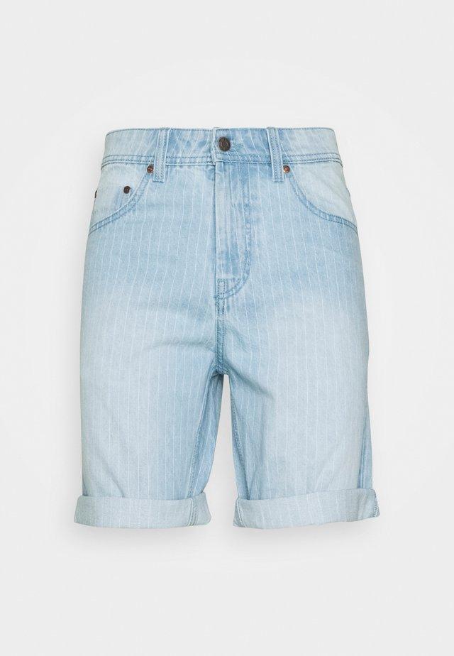 MR ORANGE STRIPE - Shorts - blue/white