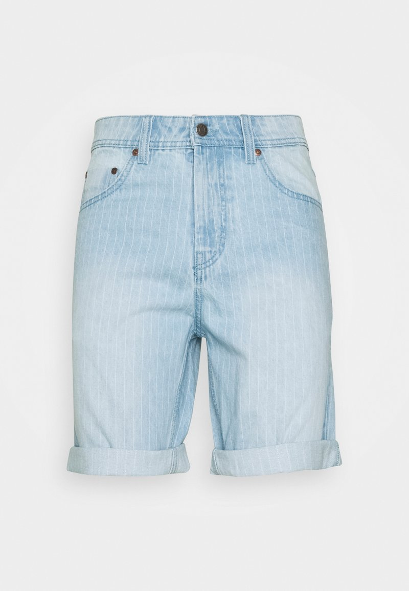 Denim Project - MR ORANGE STRIPE - Shorts - blue/white